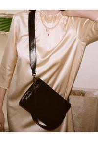 BALAGAN - Czarna torebka Gala. Kolor: czarny. Styl: vintage, klasyczny, elegancki. Rodzaj torebki: na ramię