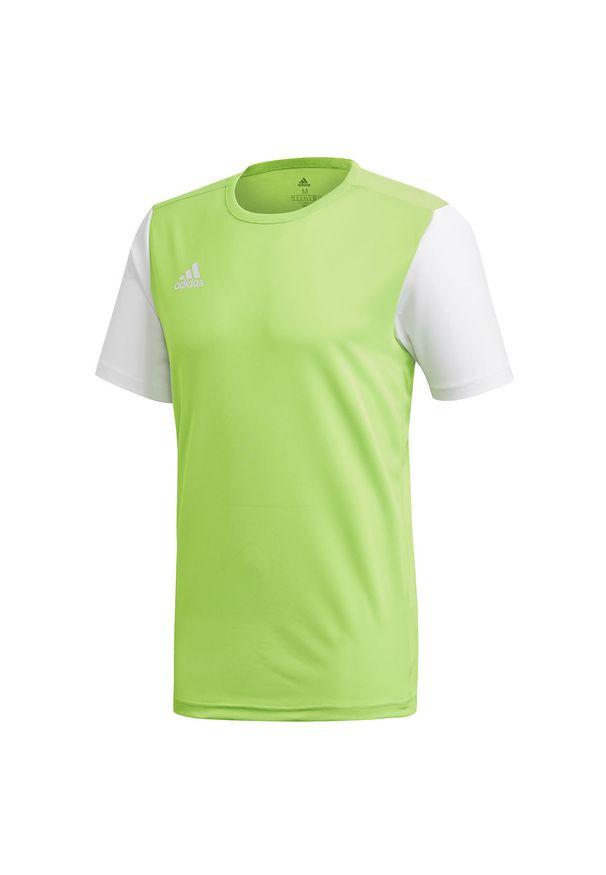 Adidas - Koszulka adidas Estro M DP3240. Materiał: materiał. Długość rękawa: krótki rękaw. Technologia: ClimaLite (Adidas). Długość: krótkie. Sport: fitness, piłka nożna