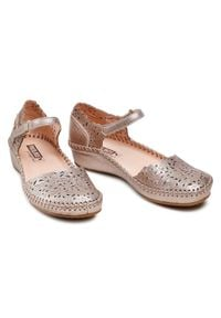 Srebrne sandały Pikolinos casualowe, na co dzień