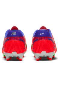 Buty piłkarskie dla dzieci Nike Jr Mercurial Vapor 14 Academy FG/MG CV0811. Zapięcie: zamek. Materiał: syntetyk, materiał, skóra. Szerokość cholewki: normalna. Sport: piłka nożna