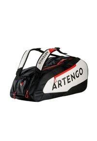 ARTENGO - Torba tenisowa 930 L na 9 rakiet. Kolor: biały, czarny, wielokolorowy. Sport: tenis