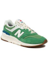 New Balance - Sneakersy NEW BALANCE - CM997HRL Zielony. Kolor: zielony. Materiał: zamsz, materiał, skóra