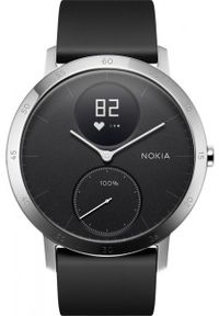 WITHINGS - Smartwatch Withings Activité Steel HR 40mm czarny. Rodzaj zegarka: smartwatch. Kolor: czarny. Styl: klasyczny, casual, elegancki, biznesowy
