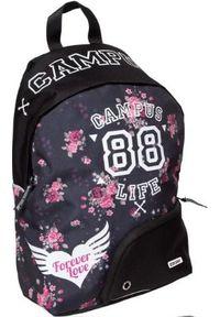 Czarny plecak Hamelin