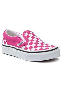 Vans Tenisówki Classic Slip-On VN0A4BUT30Z1 Różowy. Zapięcie: bez zapięcia. Kolor: różowy. Model: Vans Classic
