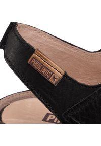 Czarne sandały Pikolinos casualowe, na co dzień