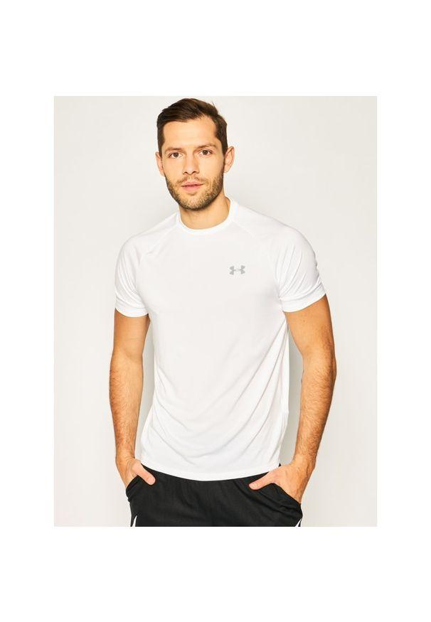 Biała koszulka sportowa Under Armour