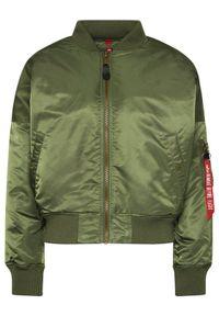 Zielona kurtka przejściowa Alpha Industries