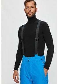Protest - Spodnie. Okazja: na co dzień. Kolor: niebieski. Materiał: materiał. Styl: casual