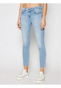 Niebieskie jeansy slim Marella