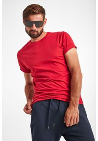 JOOP! Jeans - T-SHIRT ALPHIS JOOP! JEANS. Materiał: bawełna. Długość rękawa: krótki rękaw. Długość: krótkie