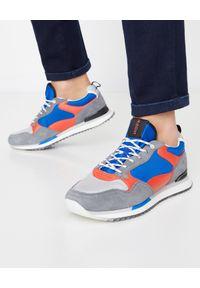 HOFF - Sneakersy Wellington. Kolor: szary. Materiał: jeans, zamsz, materiał. Wzór: nadruk, kolorowy