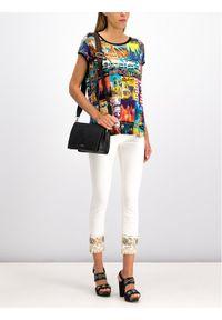 Bluzka Desigual w kolorowe wzory