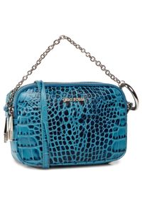 Niebieska torebka klasyczna Gino Rossi klasyczna