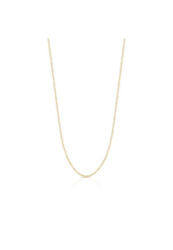 W.KRUK Wyjątkowy Łańcuszek Złoty - złoto 333 - ZVI/LR302. Materiał: złote. Kolor: złoty. Wzór: ze splotem, ażurowy