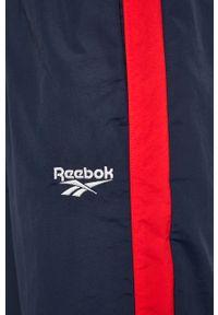Niebieskie spodnie dresowe Reebok Classic #5