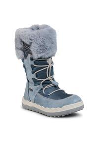 Niebieskie śniegowce Primigi