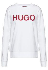 Biała bluza Hugo