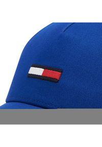 Tommy Jeans Czapka z daszkiem Tjm Flag Cap AM0AM07170 Niebieski. Kolor: niebieski