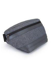 Szary plecak Wittchen klasyczny, z aplikacjami