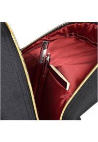 Czarny plecak na laptopa PORT DESIGNS elegancki, w paski