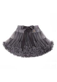 LaVashka Spódnica 20 D Szary Regular Fit. Kolor: szary