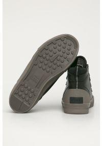 Czarne sneakersy sorel z cholewką, na sznurówki #4