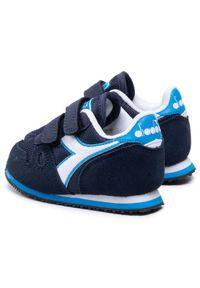Diadora Sneakersy Simple Run Td 101.174384 01 C2592 Granatowy. Kolor: niebieski. Sport: bieganie