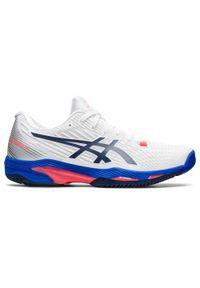 Asics - Buty tenisowe GEL Solution Speed damskie na twardą nawierzchnię. Szerokość cholewki: normalna. Sport: tenis