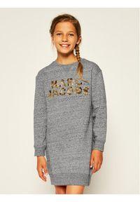 Szara sukienka Little Marc Jacobs casualowa, prosta, na co dzień