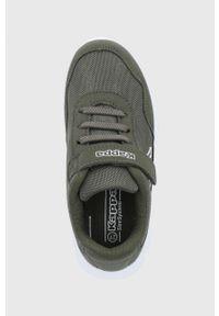 Kappa - Buty dziecięce Follow. Nosek buta: okrągły. Zapięcie: rzepy. Kolor: zielony. Materiał: materiał, syntetyk. Szerokość cholewki: normalna #4