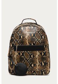 Brązowy plecak Aldo elegancki