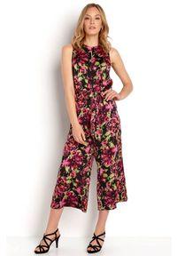 Happy Holly Kombinezon Irma we wzory female ze wzorem 48/50. Materiał: materiał, guma. Długość: do kostek