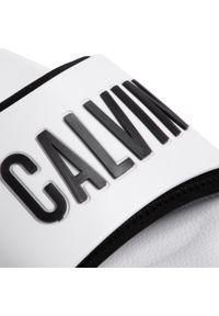 Białe klapki Calvin Klein Swimwear