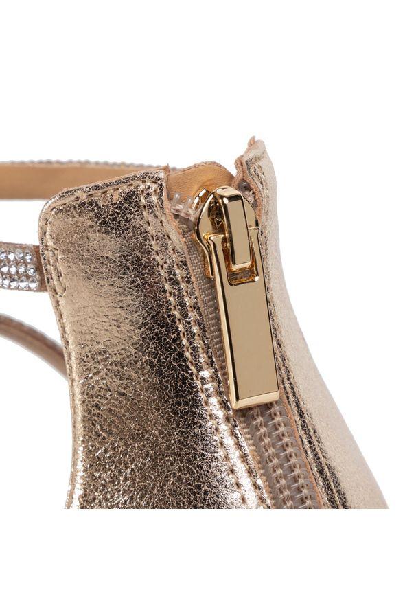 Złote sandały Eva Longoria