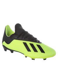 Adidas - Buty adidas X 18.3 FG Jr DB2418. Szerokość cholewki: normalna. Sport: piłka nożna