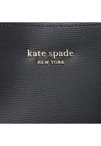 Kate Spade - Torebka KATE SPADE - All Day PXR00297 Black/Black 003U. Kolor: czarny. Materiał: skórzane. Styl: klasyczny, casual #5