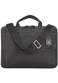 Czarna torba na laptopa RIVACASE