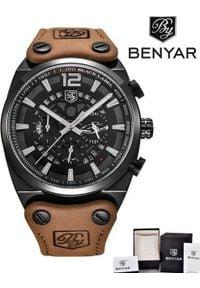 Zegarek BENYAR Blackbird czarny-srebrny (BY5112). Kolor: czarny, srebrny, wielokolorowy