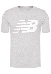 New Balance T-Shirt Classic New MT03919 Szary Regular Fit. Kolor: szary