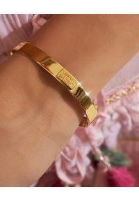 HERMINA ATHENS - Pozłacana bransoleta Kallista. Materiał: pozłacane. Kolor: złoty