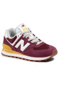 Czerwone sneakersy New Balance 574