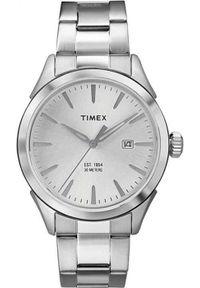 Srebrny zegarek Timex
