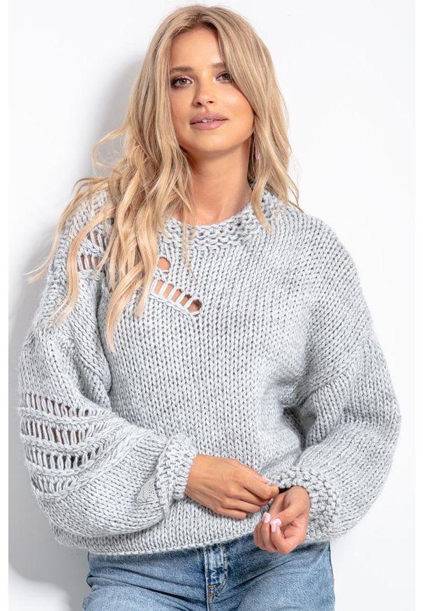 Szary sweter Fobya