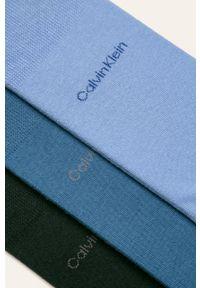 Niebieskie skarpetki Calvin Klein
