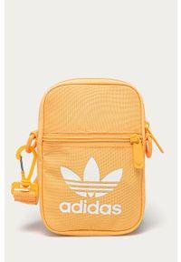 Pomarańczowa nerka adidas Originals z nadrukiem