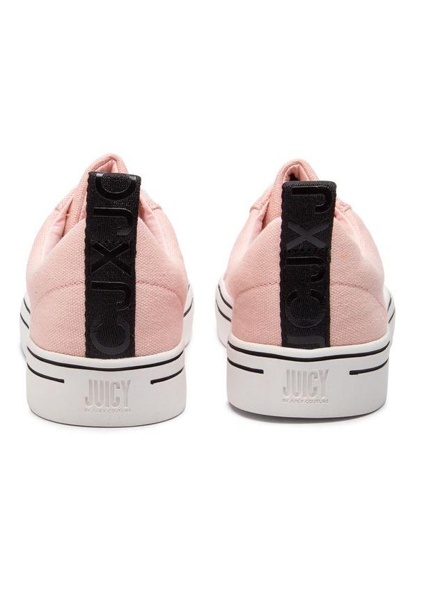 Różowe trampki Juicy by Juicy Couture