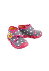 Befado - BEFADO 523P 010 SPEEDY różowy, kapcie dziecięce, rozmiary: 20-26. Kolor: różowy