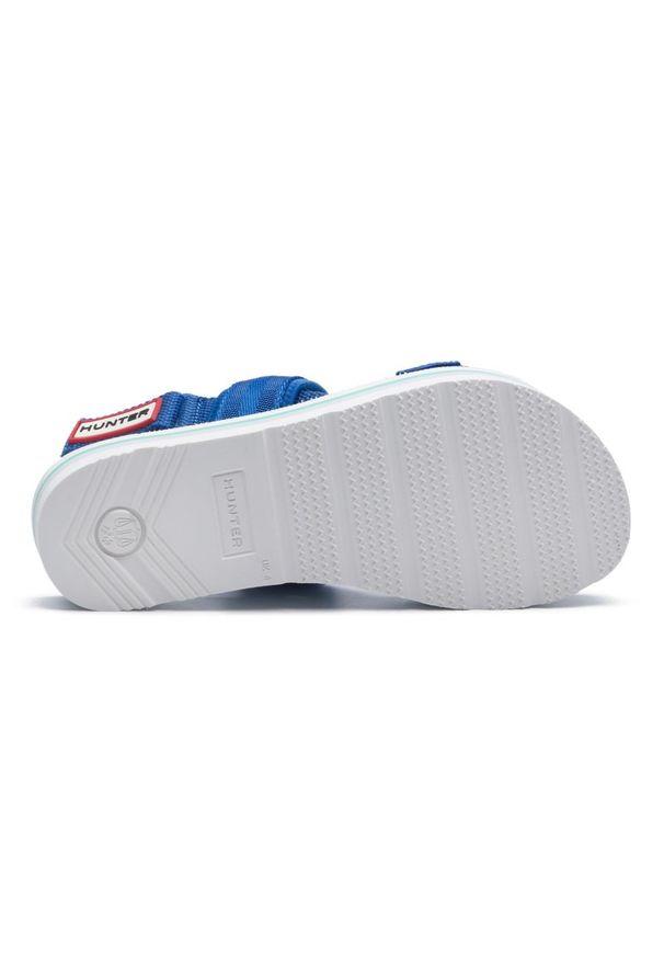 Niebieskie sandały Hunter