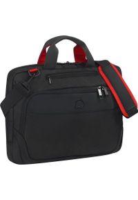 Czarna torba na laptopa Delsey